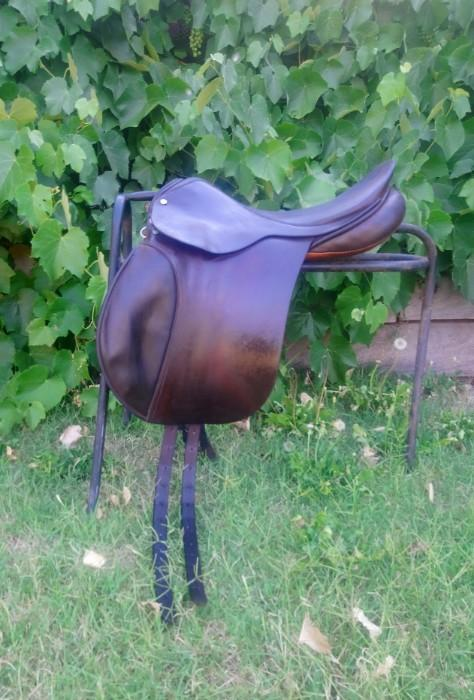 GT Palmer English Made Jump Saddle + Bridle