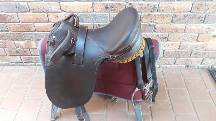 Cox Poley Stock Saddle