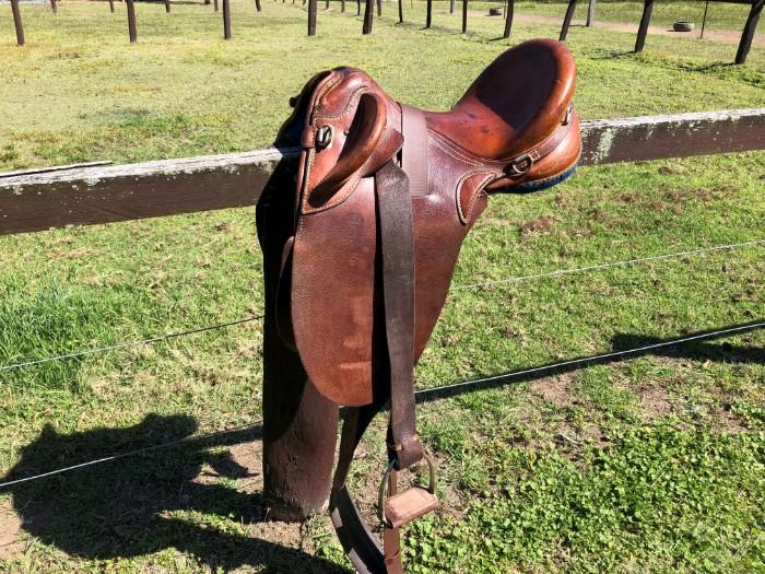 Stock Saddle - 17' Australian Made Charlton