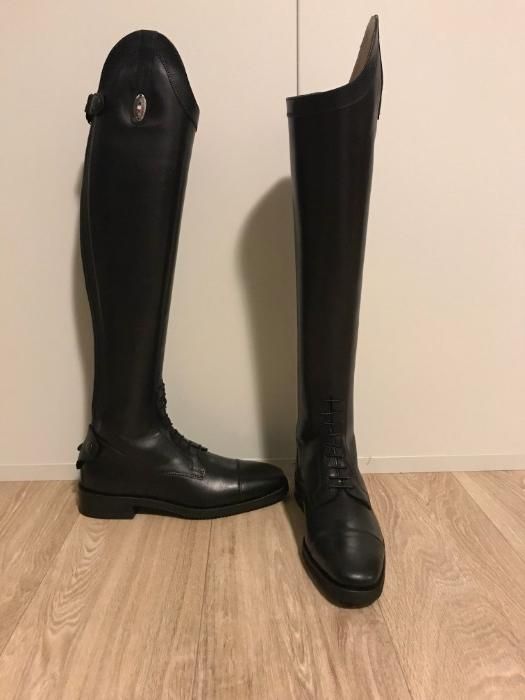 Stivaleria Secchiari Black Riding Boots