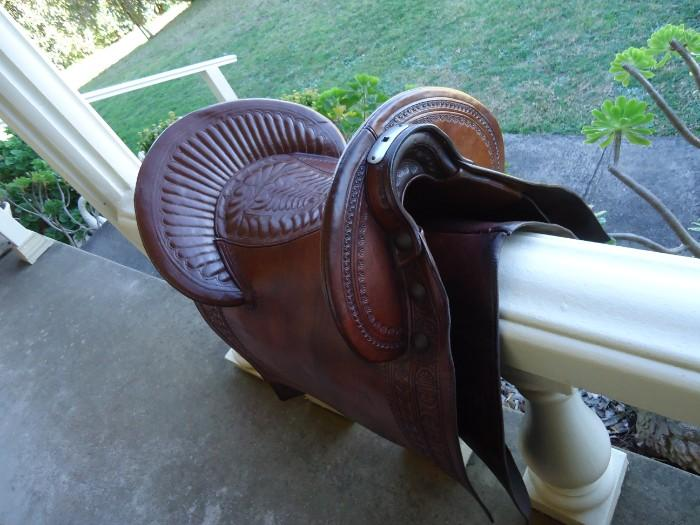 Peruvian Paso saddle
