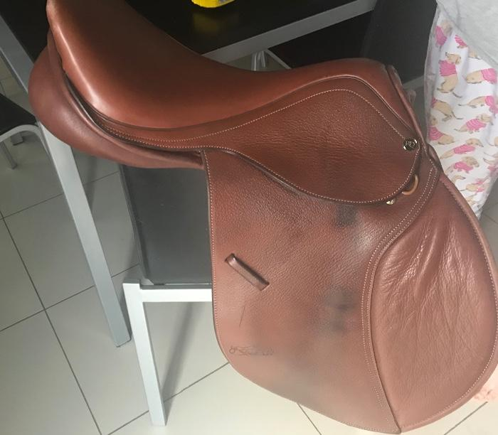 Trainer Jumping Saddle 16""