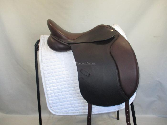 "Adam Ellis Kemlyn Cob 17.5"" XW/XXW Dressage Saddle"