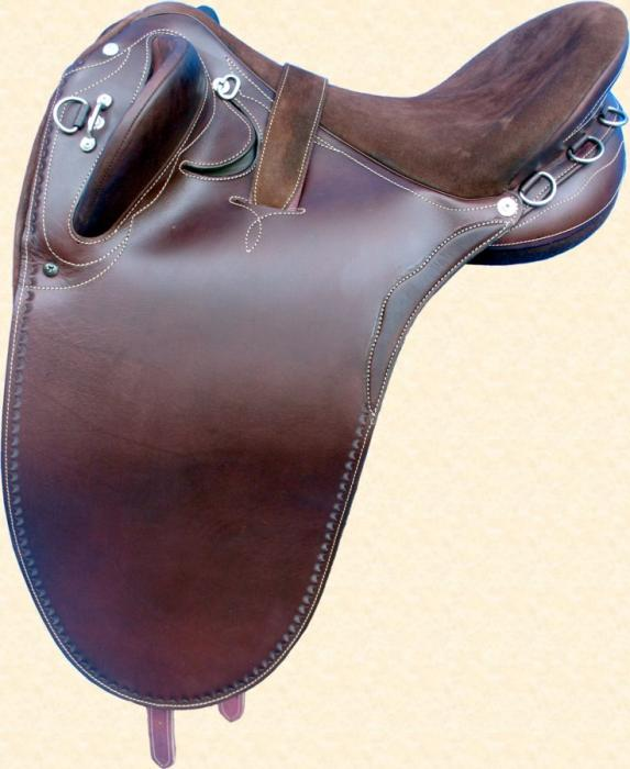 "Syd Hill & Sons Silver Stock Saddles 16"" & 17"""