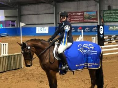 Melbourne 3DE Young Event Horse 4yo Champion