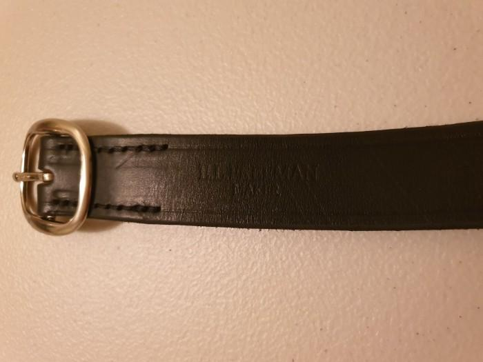 Leather Belt - Made by E L Freeman