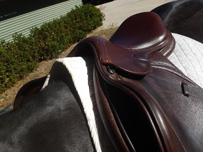 Meredith Prestige D jumping saddle