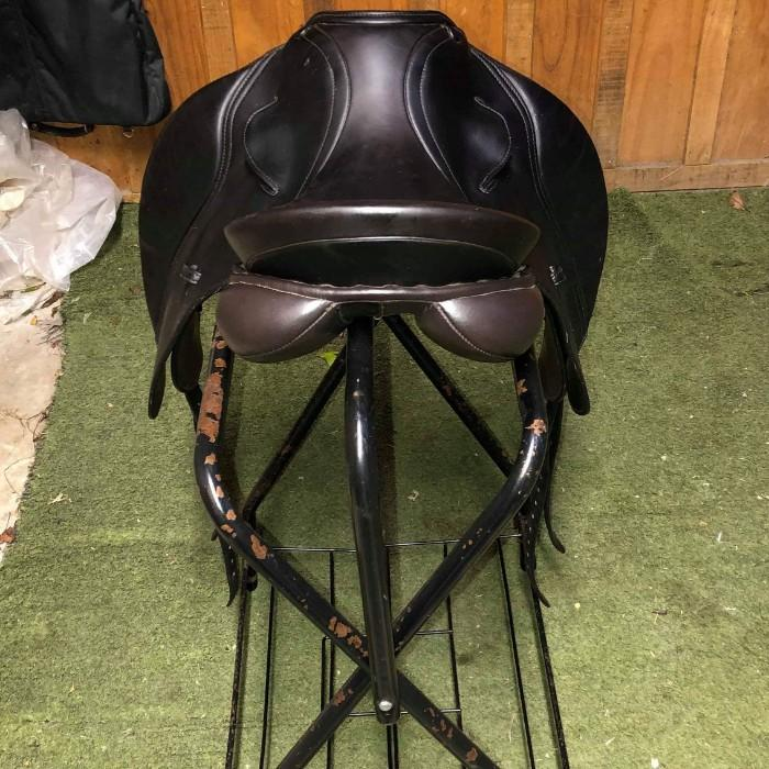 "PH Royal 2 16"" Dressage Show Saddle Brown"