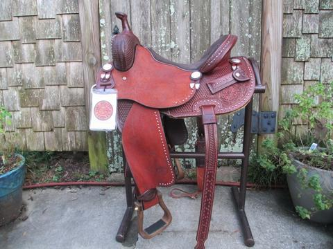 CIRCLE Y TAMMY FISCHER DAISY BARREL SADDLE