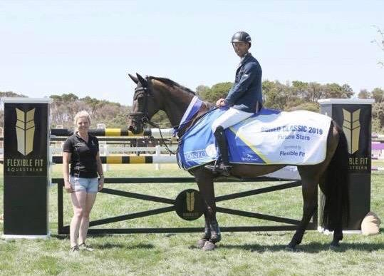 Imported WB mare Showjumping For Pleasure line