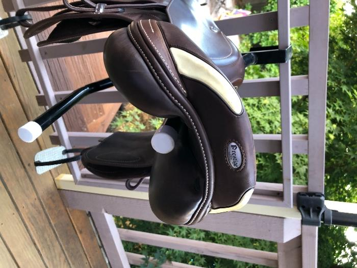 "Prestige X-Paris 16"" Jumping Saddle"
