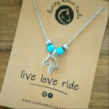 https://www.livinghorsetails.com/products/horse-head-and-turquoise-beaded-necklace