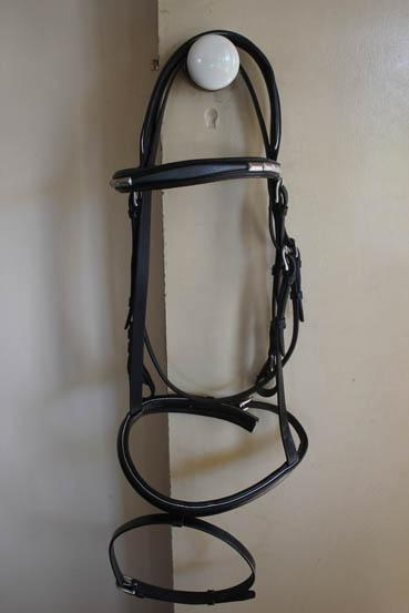 Beautiful black leather bridle