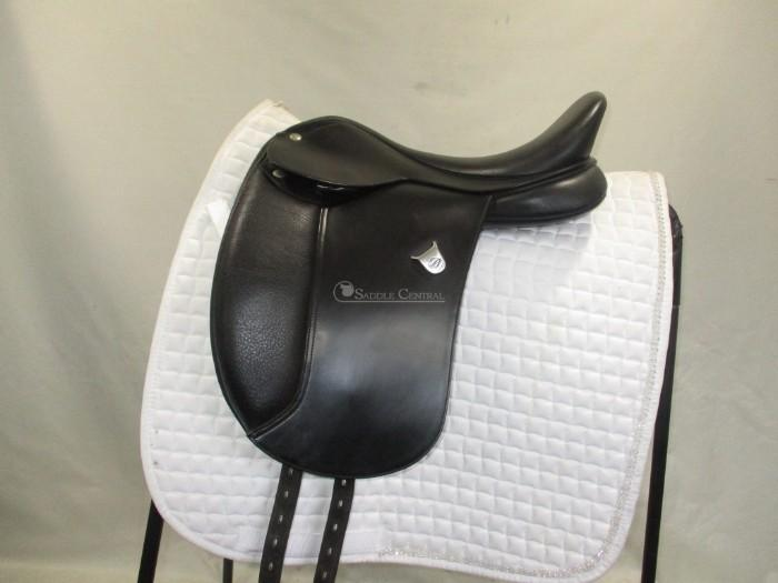 Bates Pony Dressage Saddle 16""