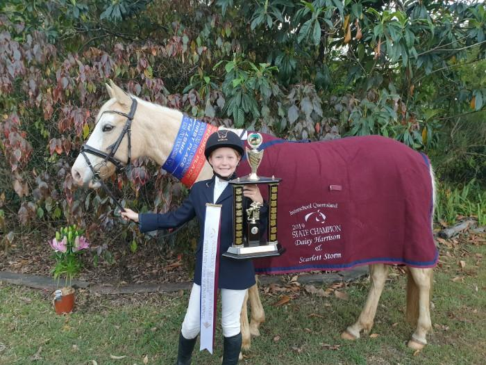 Interschool State Champion Showjumper