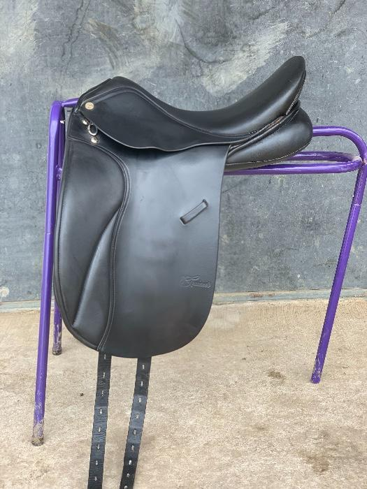 Trainer's Jessica Dressage Saddle