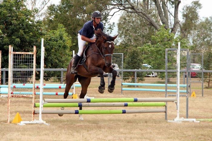Young, tall eventing prospect