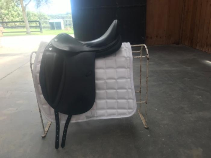 Prestige Helen K dressage saddle.