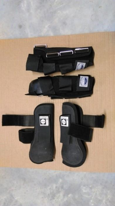 Two pairs of front boots for sale