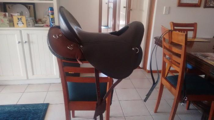 "brand new Franco ""Kalahari"" saddle"