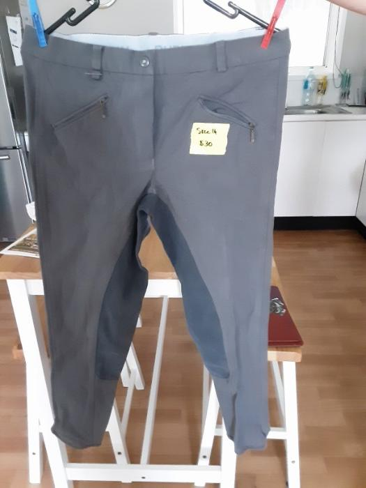 Breeches x 3 prs vgc size ladies 32 - Aust 14