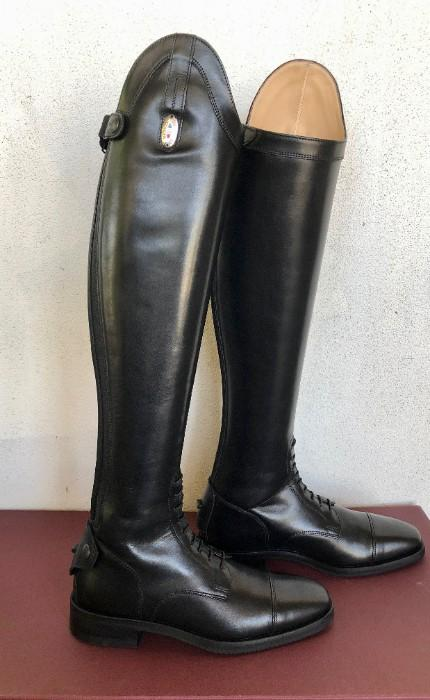Stivaleria Secchiari Black Riding Boots (The High