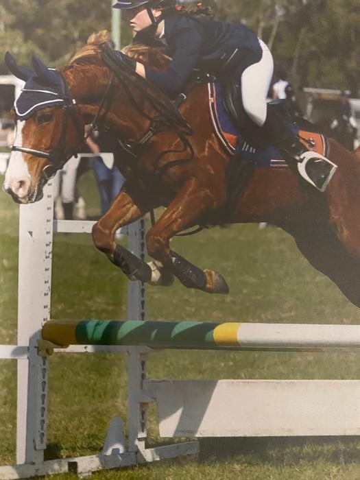 Talented Interschool Showjumping  Pony