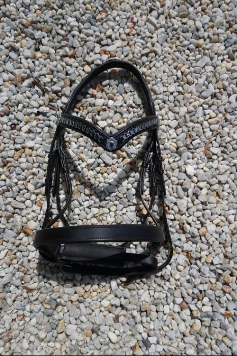 Comfy Anatomical Brown Cob Bridle