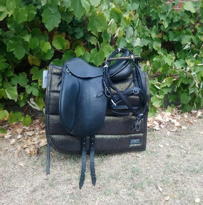 Anky / PDS Dressage Saddle + Extras