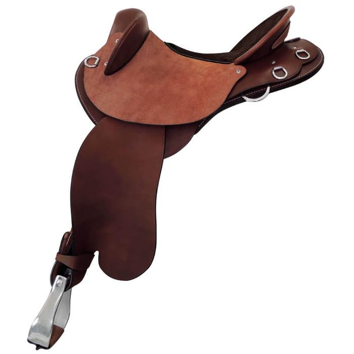 "TOOWOOMBA SADDLERY RANGER FENDER 16"" SEMI-QUARTE"