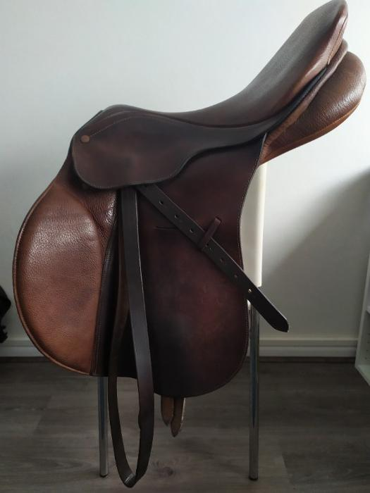 Bates Caprilli  Brown Jump Saddle