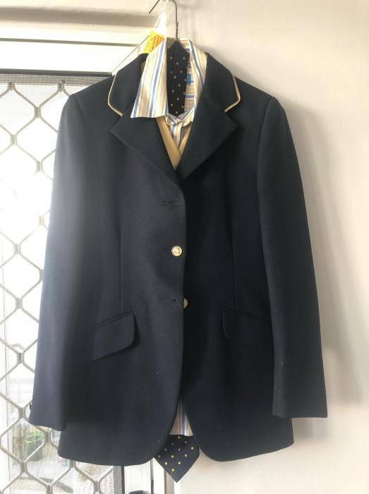Childs Riding Jacket-Vest-Shirt-Tie
