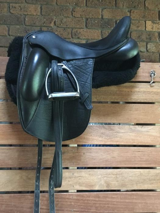 "Custom Coda 18"" dressage saddle"