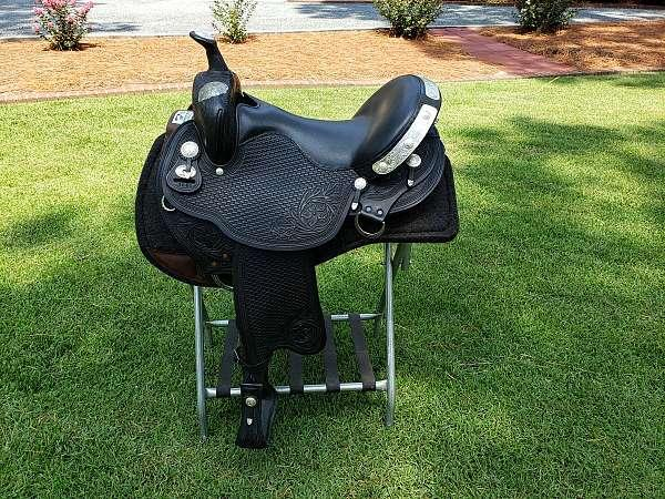 Black 17 Inch Other Harmony Western Dressage Sadd