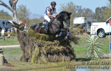 Wimborne Constable and Haeth Ryan successfully competing 4* eventing
