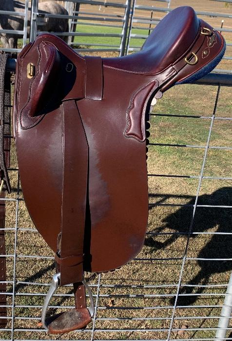 ASHLA Quality Rod Stevens Stock Saddle
