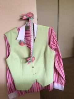 Show riding shirt and waistcoat