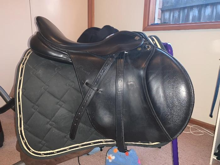 17inch Trainers Pro Deluxe Jump Saddle