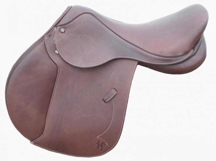 17inch Hawkesbury River Showjump Saddle