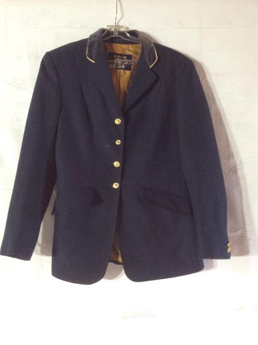 Windsor Showriding Jacket with Blue Vest