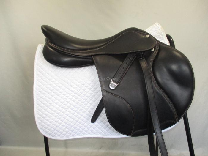 "Bates Elevation Luxe 17.5"" Jump Saddle"