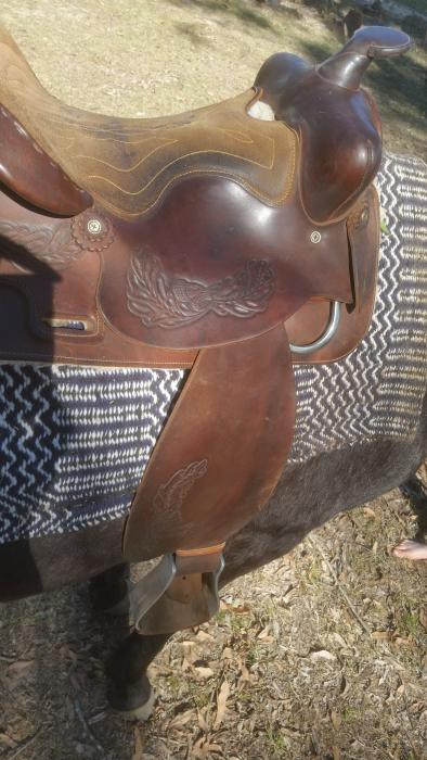 Australian Made Cowling Western Saddle