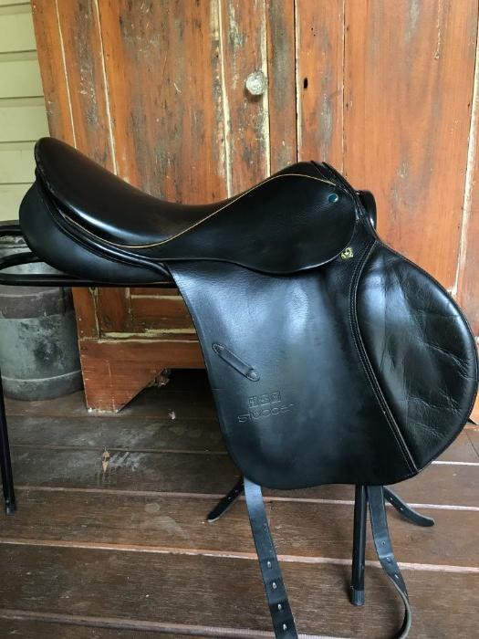 Stubben Siegfried Jump saddle