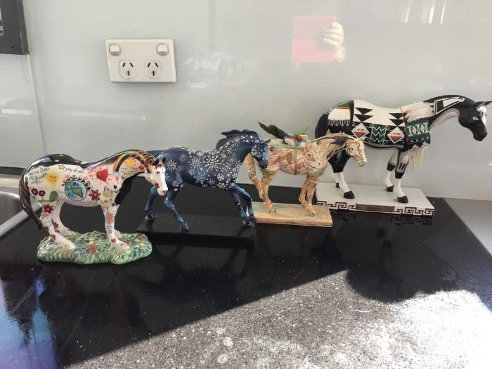 Set of Trail of Painted Ponies (5 in set)