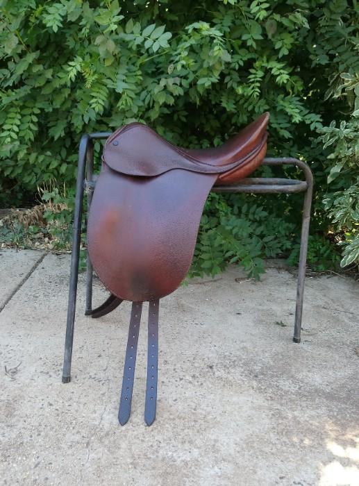 "Stuart 15 3/4"" Pony Show Saddle + Bridle"